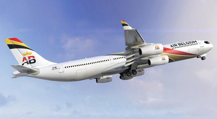 Air Belgium самолет